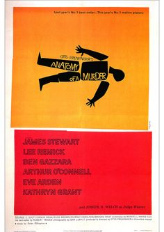 Anatomy of a Murder Poster 1959