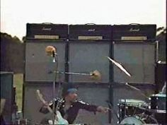 For the tour that began in Feb. '68, Hendrix used Dual Showmans and Marshalls then added 100-watt Sunn Coliseum P.A. tube amps. Hendrix soon severed his relationship with Sunn and began using Marshalls almost exclusively. Hendrix's Marshall of choice was the 100-watt Super Lead driving two 4x12 cabs, and his standard backline would quickly grow to three Super Leads and six 4x12s. He plugged his guitar into one amp, and linked it to the others by running a cable from an adjacent input.