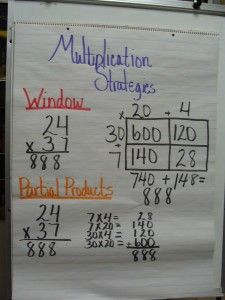 Here is a good anchor chart showing strategies for teaching x multiplication. Math Strategies, Math Resources, Math Activities, Multiplication Strategies, Math Games, Logic Games, Math Tips, Multiplication Anchor Charts, Math Anchor Charts