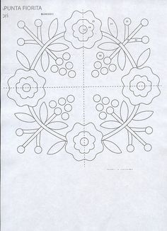 Facilissimo Patchwork Nº 07 - Applique Quilt Patterns, Applique Templates, Hand Applique, Applique Designs, Embroidery Applique, Embroidery Patterns, Owl Templates, Felt Patterns, Quilting Projects