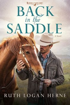 #GIVEAWAY (ends May 28) - Back in the Saddle is a moving and complex story of family dynamics and a forgiving God who gives second chances. Highly recommended.