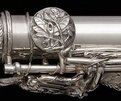 Dryad's Kiss flute detail by John Lunn