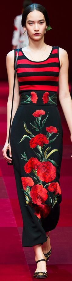 Dolce & Gabbana Collection Spring 2015