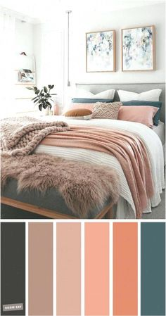 and Teal Colour Scheme For Bedroom -Mauve, Peach and Teal Colour Scheme For Bedroom - teal home accents Mauve, Peach and Teal Colour Scheme For Bedroom elegant taste master bedroom color scheme 26 Bedroom Colour Palette, Bedroom Color Schemes, Bedroom Colors, Home Decor Bedroom, Bedroom Ideas, Apartment Color Schemes, Bedroom Table, Diy Bedroom, Mauve Bedroom