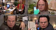 Oh, Dwight.
