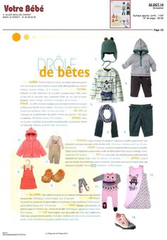 Moulin Roty, Votre bébé, 25 octobre 2014