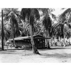 Mess Hall, Enewetak, 1940s.