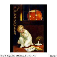 Ellen H. Clapsaddle: A Thrilling Halloween