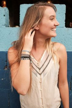 This weekend, look oh so darling in some fair trade, hand made jewelry by #kutulakiss #kisstheworld #TGIF