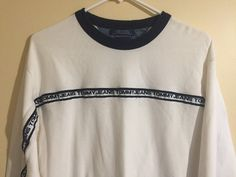 Vintage Tommy Hilfiger Jeans Pullover Collard Sweater Size L FREE SHIPPING #TommyHilfiger #pullover