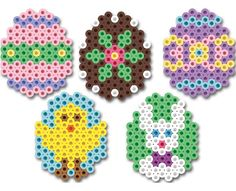 Hama Beads Easter Eggs pattern
