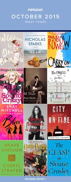 Several can't-miss books written by celebrities hit shelves this month! Drew Barrymore explores moments from her past in Wildflower, Abigail Breslin shares nonfiction essays in This May Sound Crazy, and Pretty Little Liars star Shay Mitchell wrote her first novel, Bliss, with pal Michaela Blaney.