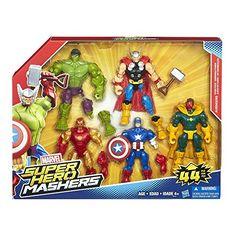 Marvel Super Hero Mashers Avengers Mash Pack  http://www.bestdealstoys.com/marvel-super-hero-mashers-avengers-mash-pack/