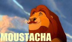 ohhhh say it again.... Moustacha Moustacha Moustacha...