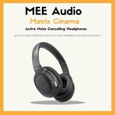 648d1b05326 MEE Audio HP-AF68-ANC Matrix Cinema Active Noise Cancelling Headphones, 4  Audio Enhancement Modes, QUALCOMMAPTX Low Latency for Audio to Vidoe lip  sync, ...