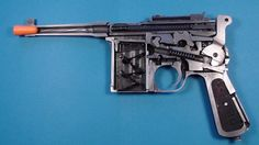 Lugercollector - #435 Mauser C96 Bolo Cutaway display Pistol