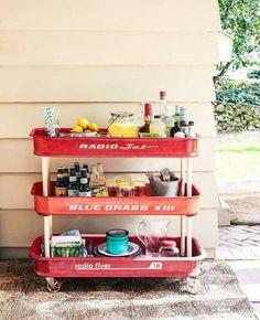 Garden Bar cart