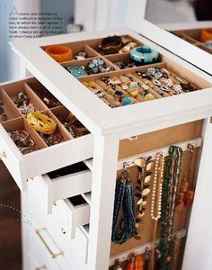 DIY Jewelry Storage!!