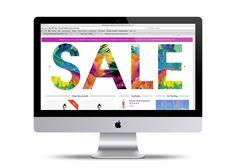 SALE Homepage Slider for @bombshellbay