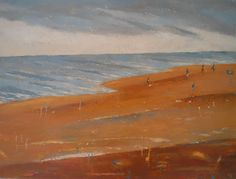 The End Of The Summer - http://www.contemporary-artists.co.uk/paintings/the-end-of-the-summer/