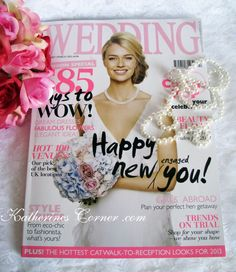 Keepsakes By Katherine was featured in wedding magazine ♥