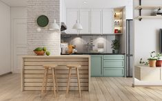 4 Small Apartment Layout Ideas With Muted Pastel Decor