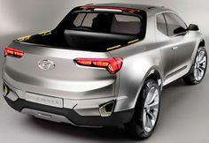 Hyundai Santa Cruz, o conceito de pick-up idealizado para as ...