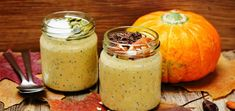 Start your mornings of with a holiday-inspired pumpkin spice chia pudding that's ready to pull out of the fridge and enjoy immediately.