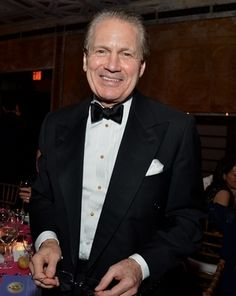 J. Tomilson Hill - Buckley, Milton, Harvard and Harvard Business School, Co-Chair of the Blackstone Group, exuberant collector of art.