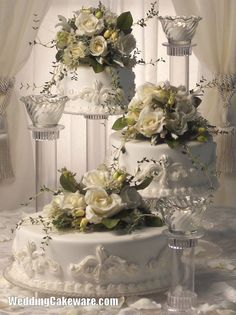 3 TIER WEDDING CAKE STAND STANDS / 3 TIER CANDLE STAND #SplendorStands