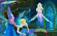 天堂2人鱼套装(LineageⅡ Mermaid Set) - Daislia - Forgiven