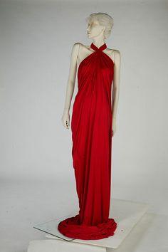 Evening dress by Yuki 1975-80 London