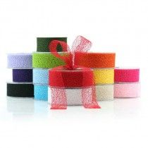 Open Weave Ribbon - Whether you use plain fabric ribbon, decorative fabric ribbon, poly ribbon or pullbows, ribbon adds a great finishing touch to every gift. Your flowers, chocolates, bottle of wine or specially wrapped present will go down a treat with a beautiful bow to embellish it. We also do branded or logo printed ribbon in large runs, email us with your requirements and we'll see what we can do. Gift wrapping, Birthday, Christmas, Baby shower, Decorations,Wedding.
