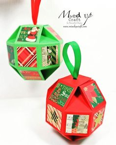 I made these a while ago and I've been waiting patiently to share them with you all. I really love these Orb Christmas decorations, they are great for using up scraps and I love that I was able to use the last of my @craftsmithco papers, they are also pretty easy to make. Check out my tutorial via the link in my bio above. . . . . . #mixedupcraft #orbchristmasdecorations #christmasdecorations #christmasornaments #christmas #christmaspapercraft #diychristmasdecorations #christmasgiftbox…