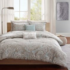 Madison Park Pure Dermot 5-Piece Cotton Comforter Set