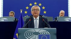European Commission chief Jean-Claude Juncker urged European Union governments on Wednesday to use economic recovery and Brexit as springboards toward a closer union, built on an expanded euro zone and a pivotal role in world trade. Brexit Eu, Shattered Dreams, Tony Blair, Liberal Politics, David Cameron, Theresa May, News Media, Pope Francis, Regrets