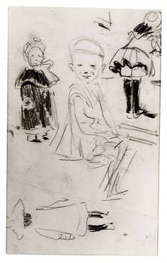 Sketches of Children, George Luks American Art, Most Famous Artists, Sketches, Famous Artists, Metropolitan Museum Of Art, Illustration Art, Ashcan School, Art, Childrens Art