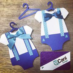 Tarjetas para Baby Shower por @ViCani_Design #ViCani_Design