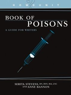 HowDunit - The Book of Poisons: A Book for Writers by Anne Bannon #mysterywriters http://www.amazon.com/dp/158297456X/ref=cm_sw_r_pi_dp_YX4hub198CAT2