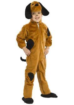Toddler Tan Dog Costume