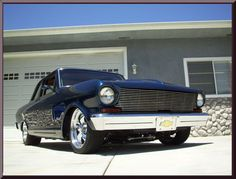 1963 Chevy II Nova, 388 Small Block