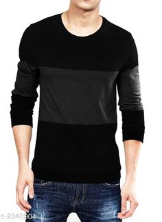 Checkout this latest Tshirts Product Name: *Stylish 100 % Cotton Men's T-Shirt* Fabric: Cotton Sleeve Length: Long Sleeves Pattern: Colorblocked Multipack: 1 Sizes: S, M, L, XL, XXL, XXXL Country of Origin: India Easy Returns Available In Case Of Any Issue   Catalog Rating: ★4 (712)  Catalog Name: Latest Stylish 100 % Cotton Men's T-Shirts Vol 10 CatalogID_312635 C70-SC1205 Code: 613-2340904-9901