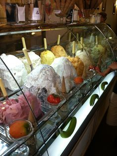 I took this picture of Gelato shop in Florence