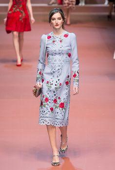 Неделя моды в Милане: Dolce & Gabbana, осень-зима 2015 | NEWS.am Style - Все о моде и стиле