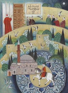 Karamanda Pirahmed Ef Cami | Evliya Çelebi | Collections | Fine Islamic Arts | Şermin Ciddi