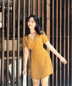 casual outfits Do You Need Childcare When You Work At Home? Girly Girl Outfits, Classy Work Outfits, Casual Outfits, Cute Outfits, Elegant Dresses For Women, Simple Dresses, Korean Fashion Dress, Fashion Dresses, Baby Girl Dress Patterns