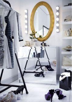 a little hollywood glamour…  via IKEA