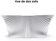 Canapé extérieur BIOPHILIA Vondom - Blanc. Veryluxuryshop.com Canapes, Abstract, Artwork, Furniture Collection, Contemporary Design, White People, Art Work, Work Of Art, Auguste Rodin Artwork