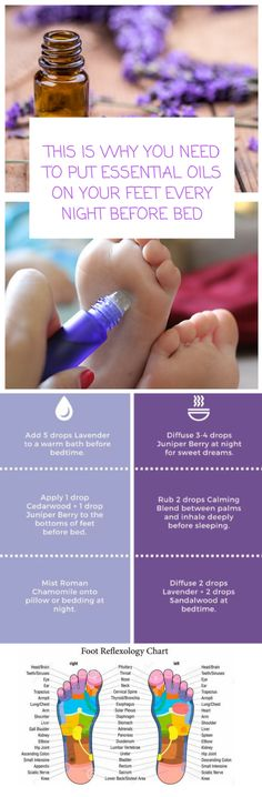 This Is Why You Need To Put Essential Oils On Your Feet Every Night Before Bed #EssentialOilBlends