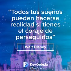 ¡Siempre persigue tus sueños! #DevQuotes
